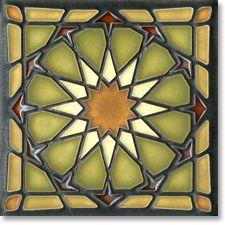 Alhambra Motawi tile. 6x6