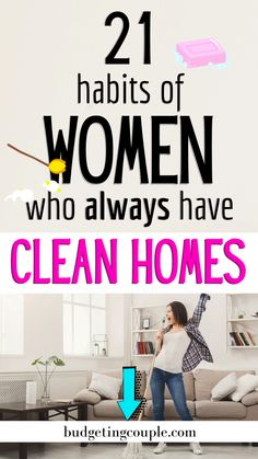 Dreading having to clean the house? Try these 21 spring cleaning hacks to make it easy on you. Don't ignore the simple, natural solutions. Diy Home Cleaning, Household Cleaning Tips, House Cleaning Tips, Diy Cleaning Products, Cleaning Solutions, Deep Cleaning, Cleaning Hacks, House Cleaning Motivation, Bedroom Cleaning Tips