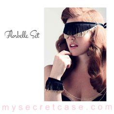 Florbelle Set è un set della linea di accessori di lusso  Fräulein Kink