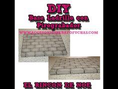 Como hacer una Base Fofuchas Ladrillo con Pirograbador El Rincón de Noe - YouTube