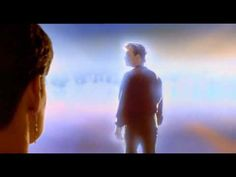 Ghost: Final Scene: Patrick Swayze.  Light often is a signal of death, as in walking off into the light.