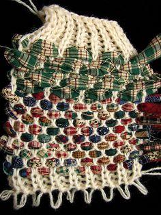 Rag Rug Weaving on Knitting Machine | Flickr - Photo Sharing!