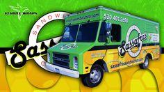 Full Vehicle Wrap - Food Truck - Sassafras - 3M Vehicle Wraps Inc.com 888.916.9727