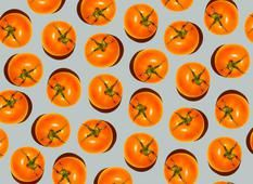 Wat zullen we eens eten vanavond? Iedere dag in de Volkskrant een verrassend recept. Vandaag: gedroogde tomaatjes (hapje, smaakmaker). Op de markt zijn ze nu goed te krijgen, superlekker en veel goedkoper dan normaal. Minitomaatjes. Niet alleen de cherryversie, ook de kleine romatomaatjes en alle kleuren 'snacktomaatjes'. We maken het lievelingshapje van mijn dochter: gedroogde tomaatjes. Kijk eer