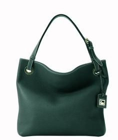 Dooney & Bourke Portofino Pebbled Leather Medium Grommet Sac Tote Bag 2P867 Ivy Green - A Dooney & Bourke Grommet Sac is in medium size and made of ivy green genuine portofino pebbled leather . This tote is perfect as a  shopper, used as a laptop bag, book bag, or you decide. It is the perfect way to treat yourself from the work weeks to fun-filled weekends and can be used for so many thin ...
