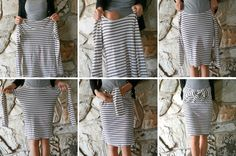 8 second skirt   Welcome to the gOOd life: DIY