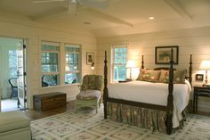 "A new Maine ""cottage"" - traditional - bedroom - boston - Knight Associates"
