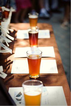 Beer Tasting is a must!