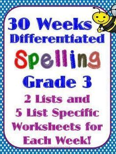 51 best spelling images on pinterest beds spelling lists and english spelling word study 30 differentiated units list specific worksheets fandeluxe Image collections