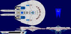 The Challenger Class Advanced Tactical Cruiser is a TMP era design by Brian Montgomery. Note: The USS Churchill is the only known ship of this class.
