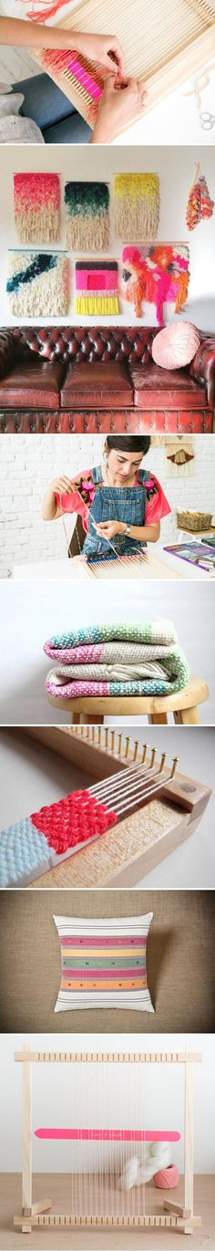 Looking for a creative project to tackle this weekend? What about weaving? Check out expert advice and visual inspiration in our how-to post on the Etsy Blog — then shop for #DIY kits and supplies on Etsy.com. #etsy