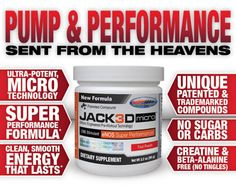 Best pre-workout supp I have tried.  Great pump and makes you go strong and focus!!
