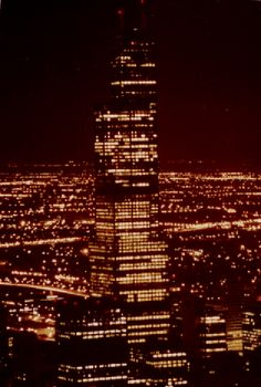 Featured Photo: Celebrating Radio's 100th Anniversary: The Building Up of FM in the 70's to the 90's – The Sears Tower in 1981