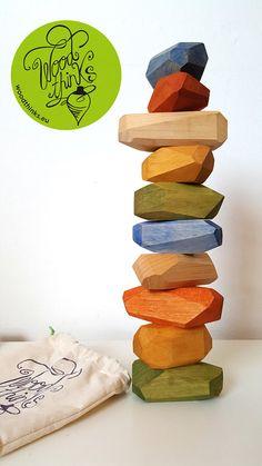 Wooden Toys for babies / Building Blocks / Montessori Toys / Tumi-Ishi blocks / Open Ended Toys / Waldorf Toys / Stacking Toys - Wooden Stacking Toys / Wooden Blocks / Montessori Toys / Eco-Friendly Toys / Balance Toys / Birth - Baby Building Blocks, Building Toys, Baby Blocks, Wooden Baby Toys, Wood Toys, Diy Wooden Toys For Babies, Wooden Blocks Toys, Stacking Toys, Eco Friendly Toys