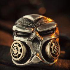 Cobalt Chrome Armored Stealth Puncher Ring #Starlingear #stealth #stealthpuncher #armored #riveted #cobaltchrome #kimopix #G9 #usnstagram