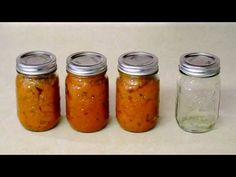 How to make jam at home without pectin. Water bath canning jam is easy too. It's a great way to preserve fruit. It works with a variety of fruit, such as str. How To Make Pickles, How To Make Jam, Jam Recipes, Canning Recipes, Persimmon Jam Recipe, How To Store Strawberries, Sugar Free Jam, Jam And Jelly, Fruit Jam