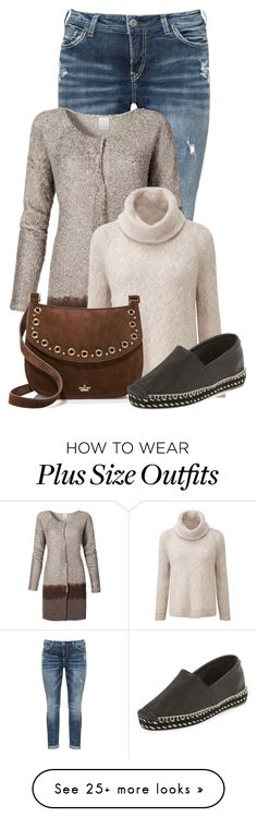 """""""Untitled #21001"""" by nanette-253 on Polyvore featuring Silver Jeans Co., Kate Spade and rag & bone"""