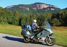 Table Rock Mountain in South Carolina exposes its granite dome high above the Carolina Piedmont. This area was featured in the February 2014 issue of Rider magazine.