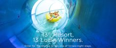 I entered to win a one-night stay at Great Wolf Lodge Southern California.