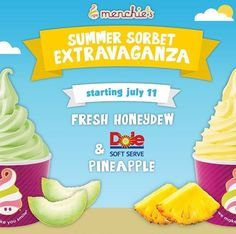 Frozen Yoghurt, July 11, Soft Serve, Honeydew, Sorbet, Pineapple, Fresh, How To Make, Food