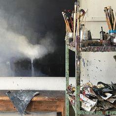 Sunday in the studio #wip #studio #painter #gallerysmith #vscocam #602melbourne