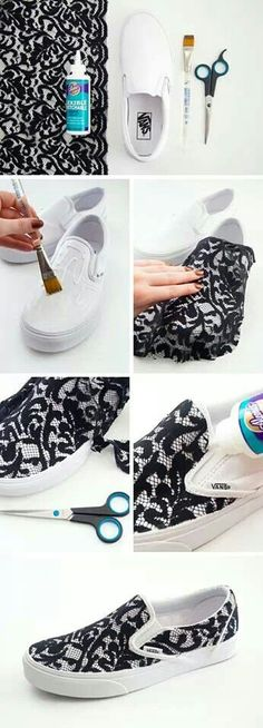 Adorable lace shoes!