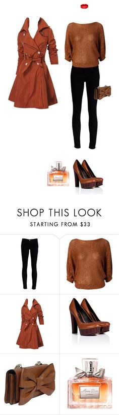 """""""Outfit"""" by valentina-bella ❤ liked on Polyvore featuring J Brand, Club L, Rachel Zoe, Valentino and Christian Dior"""