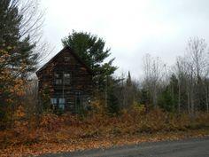 year old miners house Winona Michigan  #abandoned #miners #house #winona #michigan