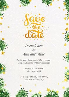 #save the date #inytes #invititation Indian Invitations, Online Invitations, Custom Invitations, Invitation Card Design, Invitation Cards, Wedding Party Invites, Indian Party, Card Designs, Color Combinations
