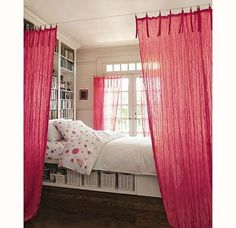 divisor con cortina