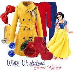 Winter Wonderland: Snow White - Polyvore