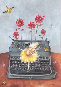 acrylic illustration by Irene Owens