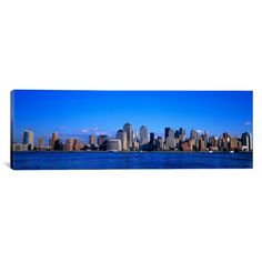 "East Urban Home Panoramic New York City Photographic Print on Canvas Size: 24"" H x 72"" W x 1.5"" D"
