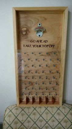 A great game to hang at your bar or man-cave. Sure to add fun to your parties or tailgates A wonderful gift to use for any holiday, wedding, and birthday. We can customize the bottom sayings to your liking free of charge. The corners are boxed splined w Wood Crafts, Diy And Crafts, Men Crafts, Man Cave Crafts, Home Projects, Projects To Try, Diy Wood Projects For Men, Backyard Bar, Wedding Backyard