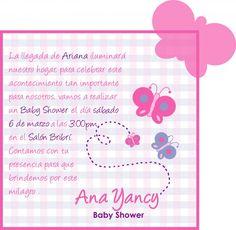 #invitaciones #mariposa #babyshower #mujer