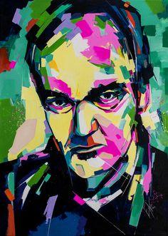 Quentin Tarantino Print from evanovanska by DaWanda.com