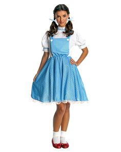Dorothy Costume for Tweens/ Teens! | Teen Dorothy Costume | This costume is perfect for me! Im gonna be Dorothy and my new dog is gonna be Todo! ( She's a Todo Dog! ) -Emma <3-