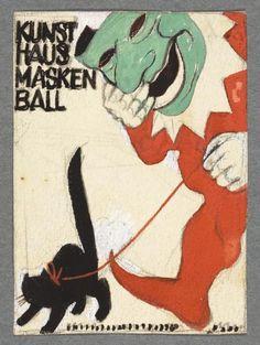 Otto Baumberger, Kunsthaus Maskenball, 1932