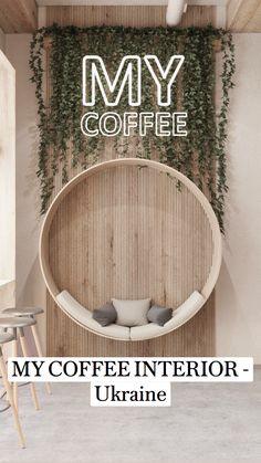 Bistro Interior, Coffee Shop Interior Design, Restaurant Interior Design, Hookah Lounge Decor, Cafe Shop Design, Deco Nature, Restaurants, Eclectic Decor, Modern Hanging Chairs