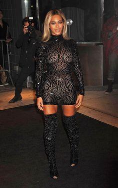Beyoncé in Tom Ford - New York City, 2013