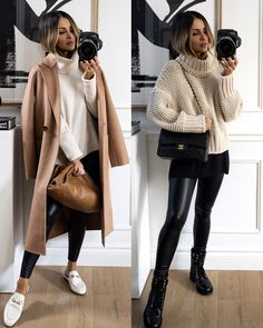 Winter Fashion Outfits, Fall Winter Outfits, Look Fashion, Autumn Winter Fashion, Clothes For Winter, Fashion Ideas, Winter Chic, Cold Weather Outfits, Fashion Hacks