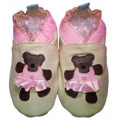 bbkdom - Lauflernschuhe Krabbelschuhe Babyschuhe Leder Schuhe mit «Oursinette» - http://on-line-kaufen.de/bbkdom/bbkdom-lauflernschuhe-krabbelschuhe-leder-mit