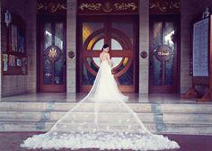 Santuario de San Jose and Glass Garden Wedding Wedding Veil, Wedding Dresses, Lace Wedding, Glass Garden, Garden Wedding, Couture, Bride, Photography, Beautiful