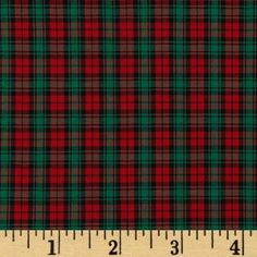 Imperial Tartan Plaids Logan from @fabricdotcom  This yarn dyed plaid shirting fabric is very lightweight and soft. It is perfect for shirts, blouses or layered skirts and dresses. Colors include red and green. Remember to allow extra yardage for pattern matching.
