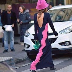 Anna Dello Russo , Paris Fashion Week #style #street #styling #stylish #fashion #fashionable #pink #pfw #paris #fashionweek #france