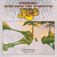 Live at Duke University, Durham, North Carolina, November 11, 1972 by Yes