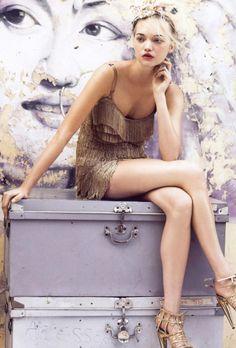 Gemma Ward by Patrick Demarchelier