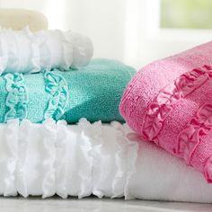 Ruffle Towels   PBteen