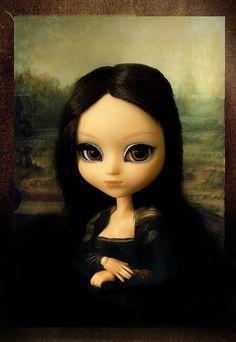 The Pullipconda! [erosanoff ( ◕ ω ◕)♡] (Gioconda / Mona Lisa)