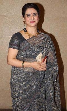 Shining Star, South Indian Actress, Beautiful Saree, Indian Actresses, Bollywood, How To Memorize Things, Product Launch, Sari, Glamour